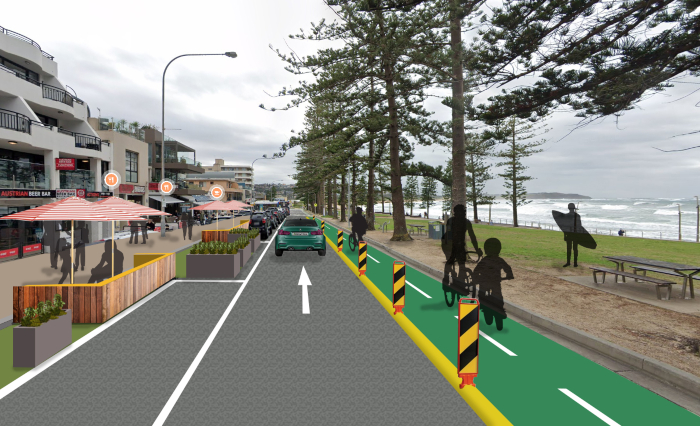 New Council Proposal Calls for Single Lane Road Along Seafront